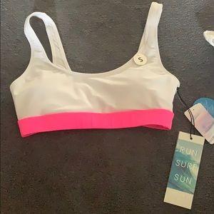 Color block bikini top BRAND NEW